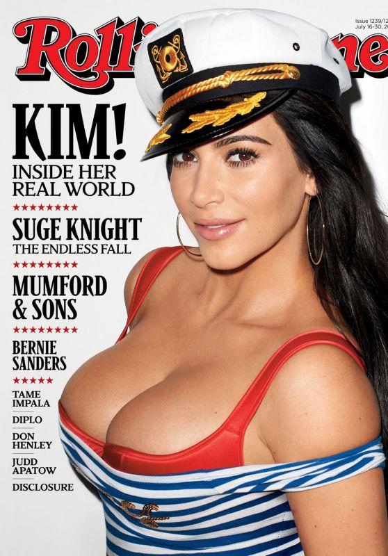 Kim Kardashian - Rolling Stone Magazine Cover July 2015