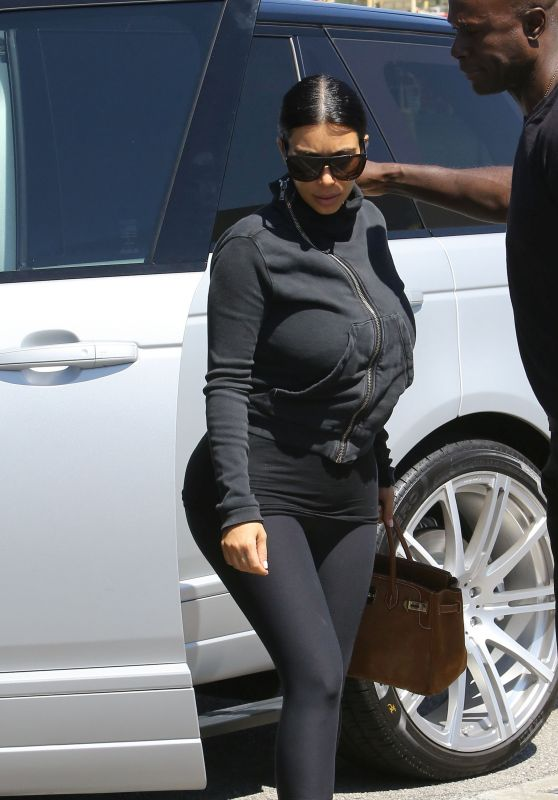 Kim Kardashian Street Style – Out in LA, July 2015