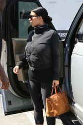 Kim Kardashian Street Style - Out in LA, July 2015