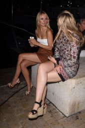 Kimberley Garner Night Out Style - St. Tropez, July 2015