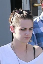 Kristen Stewart Casual Style - Out in Los Angeles, July 2015