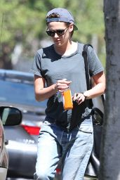 Kristen Stewart in RIpped Jeans - Beverly Hills, July 2015