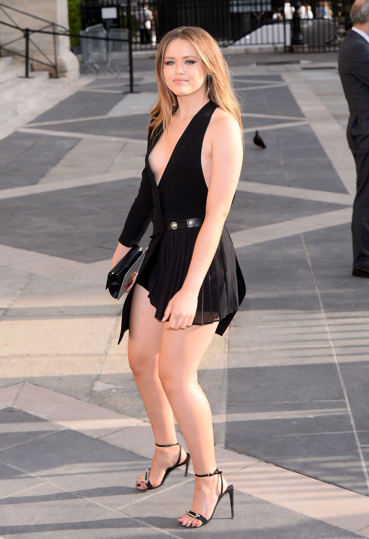 Kristina Bazan Atelier Versace Show In Paris July 2015