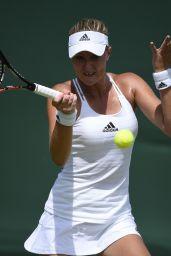 Kristina Mladenovic – Wimbledon Tournament 2015 – First Round