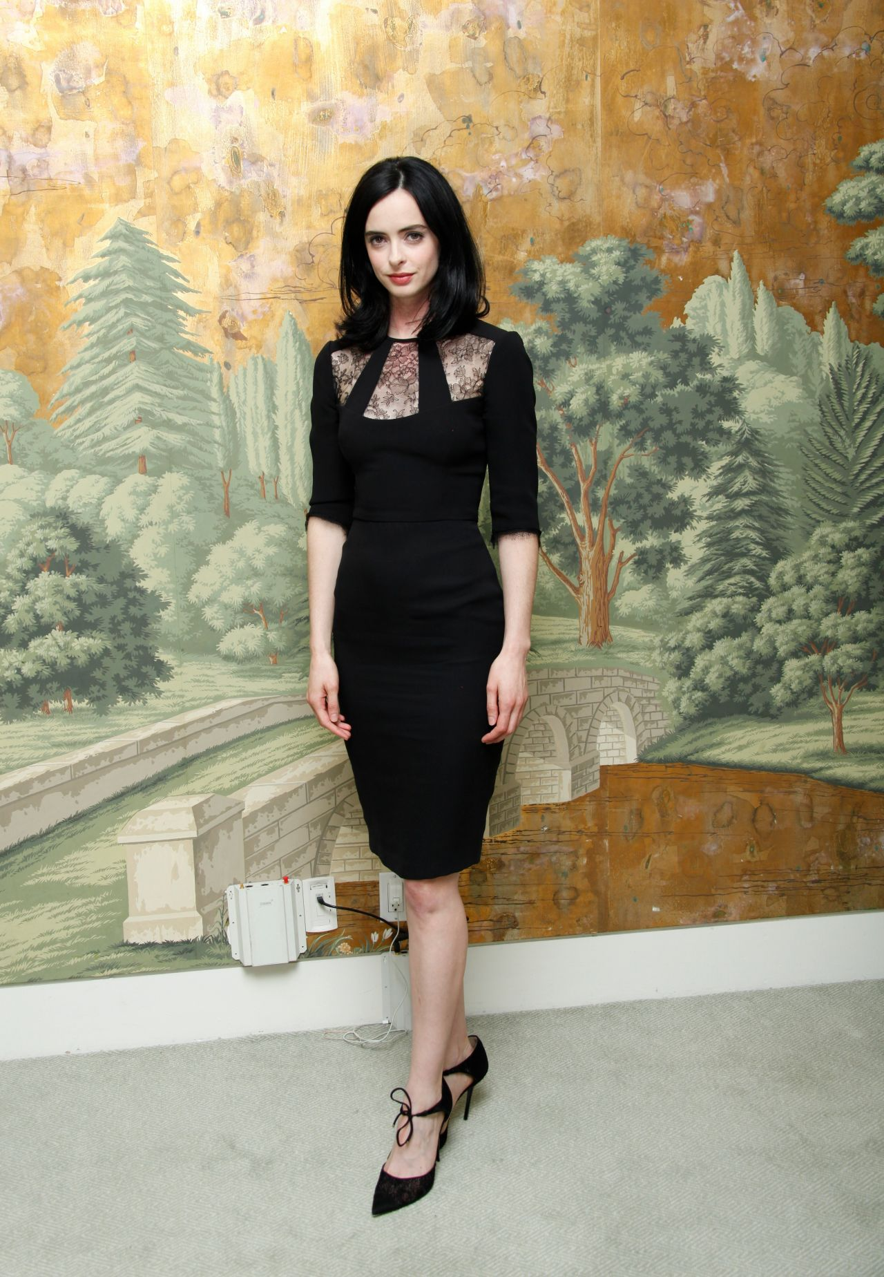 Krysten Ritter Style Jessica Jones Press Conference At