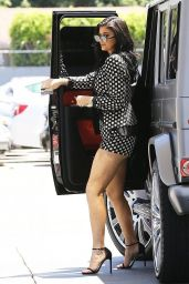 Kylie Jenner Hot Style - Stopps for Gas in LA, July 2015