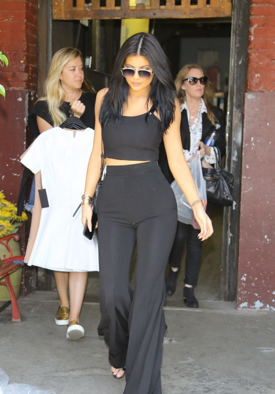 Kylie Jenner Street Fashion - Beverly Hills, July 2015