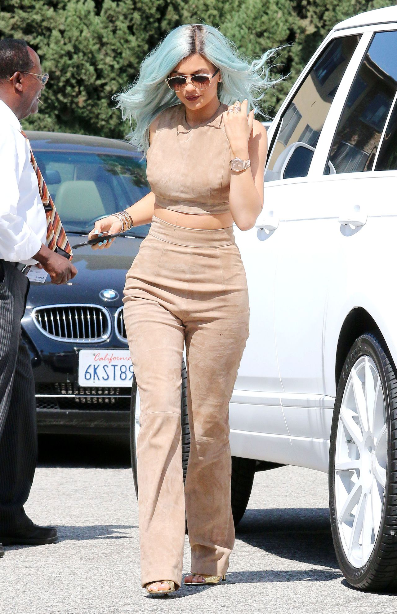 kylie jenner style  out in beverly hills july 2015