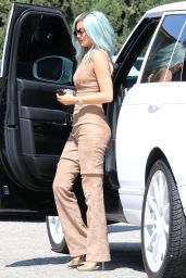 Kylie Jenner Style - Out in Beverly Hills, July 2015