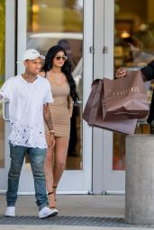 Kylie Jenner Summer Style - at the Westfield Mall in Woodland Hills, June 2015