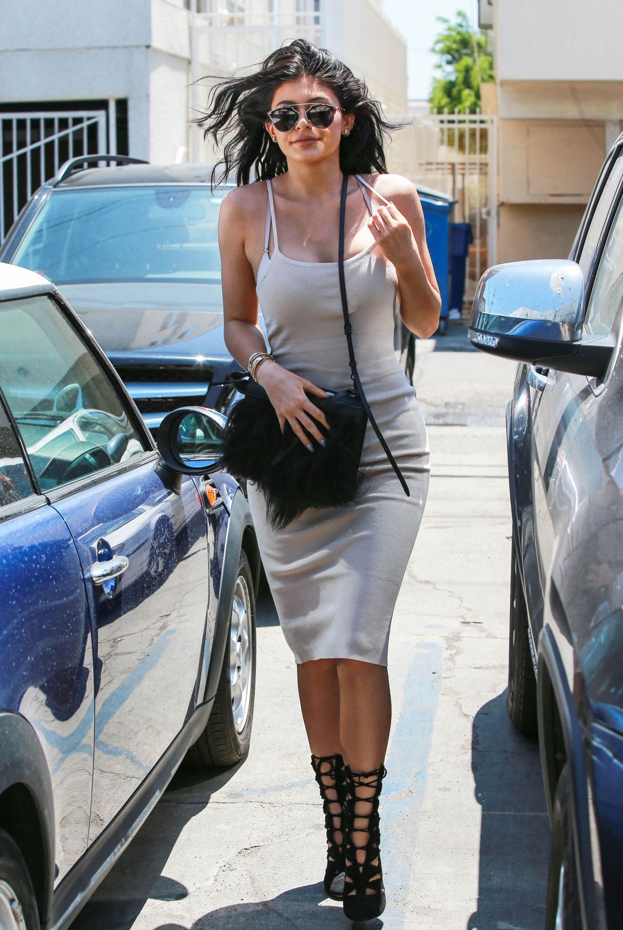 f709ad4145b2 Kylie Jenner Summer Style - Joan s on Third in LA