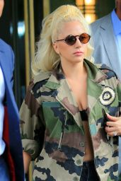 Lady Gaga Street Style - Out in New York City, July 2015