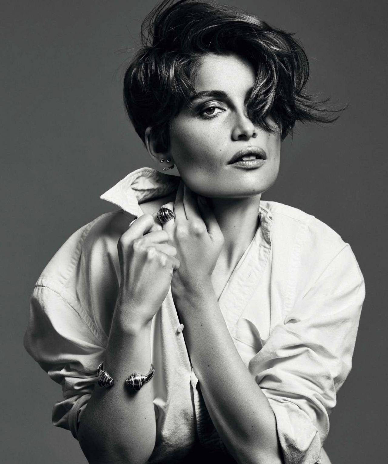 Laetitia Casta Harper S Bazaar Magazine Spain August
