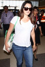 Lana Del Rey Street Style - LAX Airport, July 2015