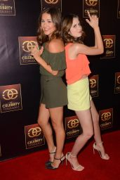 Laura Marano – The Celebrity Experience Panel in Universal City, July 2015