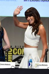 Lea Michele - American Horror Story and Scream Queens Panel at Comic-Con International 2015