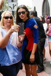 Leah Pipes, Phoebe Tonkin, and Danielle Campbell - Arriving at Comic-Con in San Diego