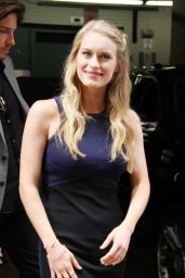 Leven Rambin at HuffPost Live, Good Day New York and AOL Studios in New York City