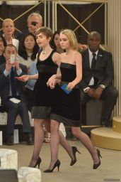 Lily Collins - Chanel Fashion Show - Paris Fashion Week, July 2015
