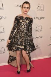 Lily Collins - Lancome 80th Anniversary Party in Paris