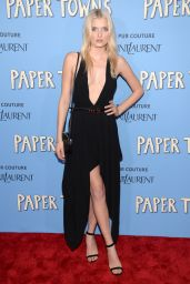 Lily Donaldson - Paper Towns Premiere in New York City