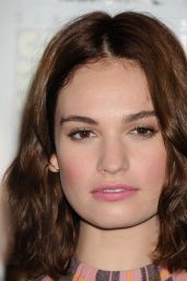Lily James - Pride and Prejudice and Zombies Press Line - Comic-Con in San Diego