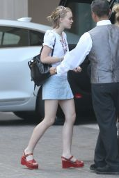 Lily-Rose Depp Summer Style - Out and About in Beverly Hills, July 2015