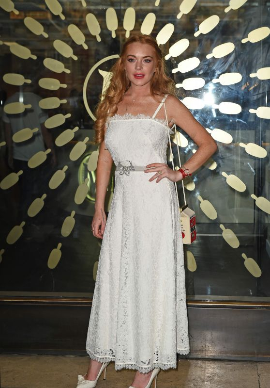 Lindsay Lohan - Magnum Pleasure Store Launch - July 2015