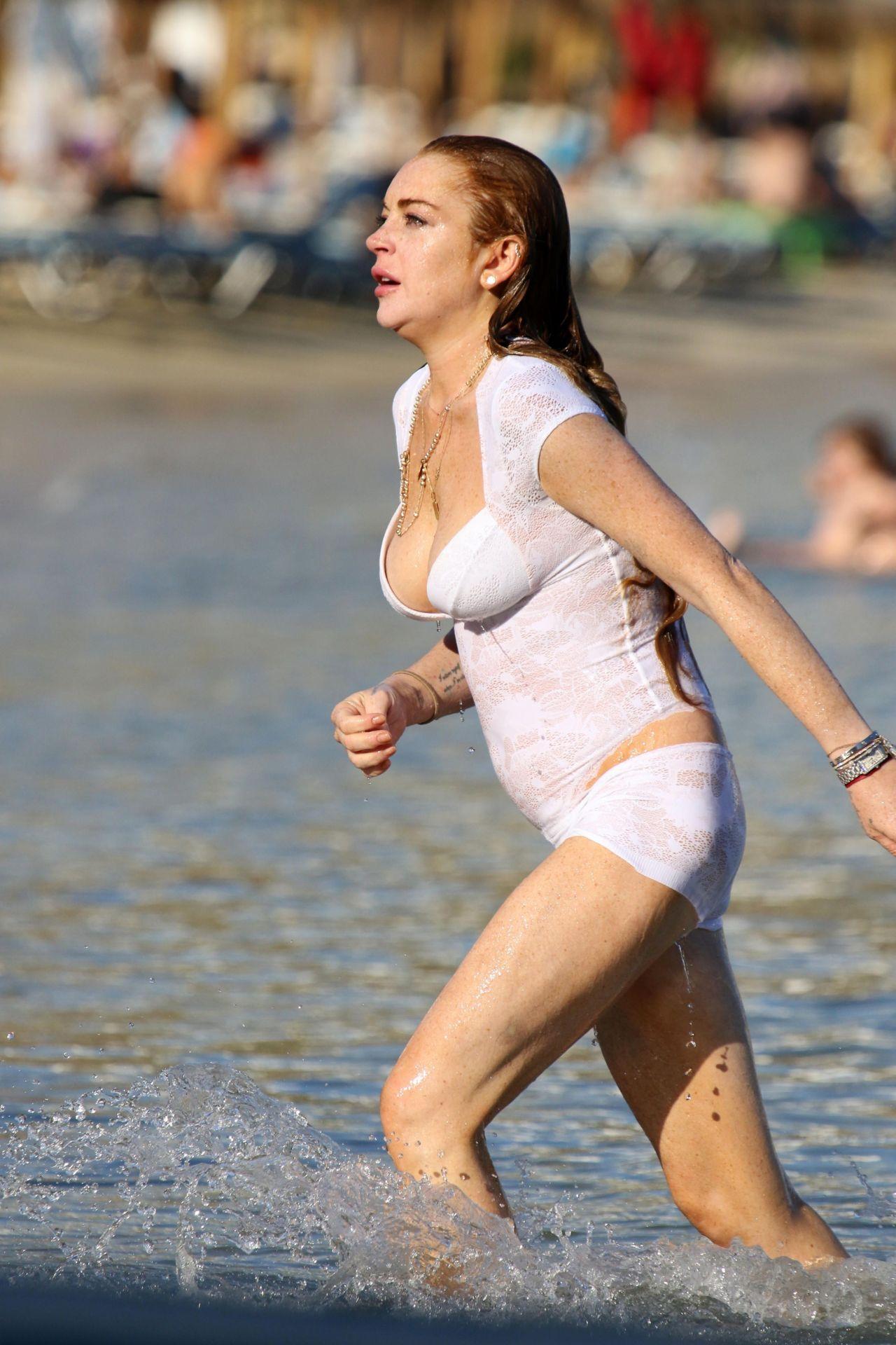 Lohan Bikini 2017 Lindsay