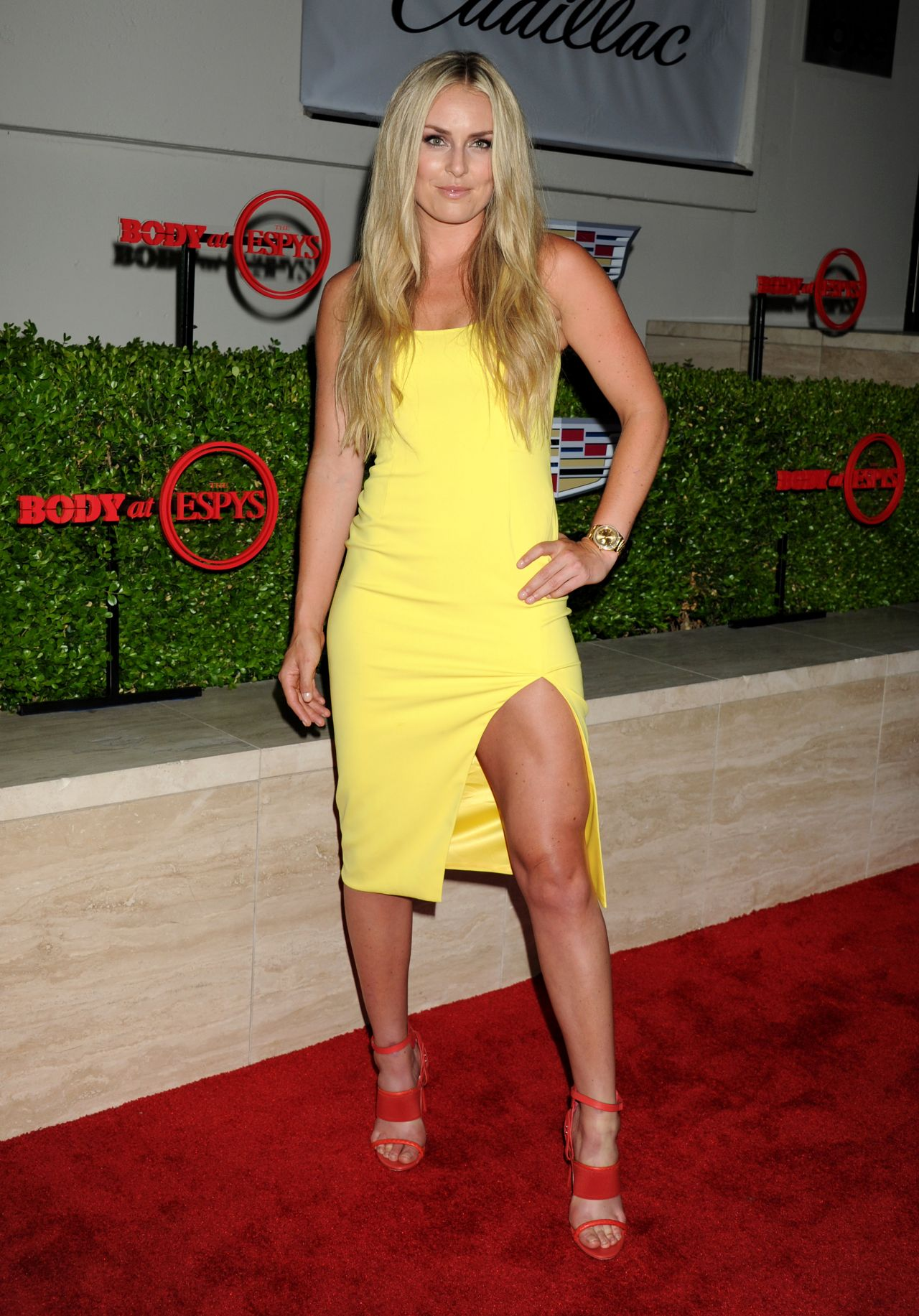 Lindsey Vonn – BODY at ESPYs at Milk Studios in Hollywood, July 2015