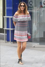 Lisa Snowdon Summer Style - at Capital FM in London, July 2015