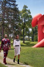 Liya Kebede & Michael B. Jordan - Photoshoot for Vogue August 2015
