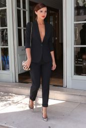 Lucy Mecklenburgh Style - Out in London, June 2015