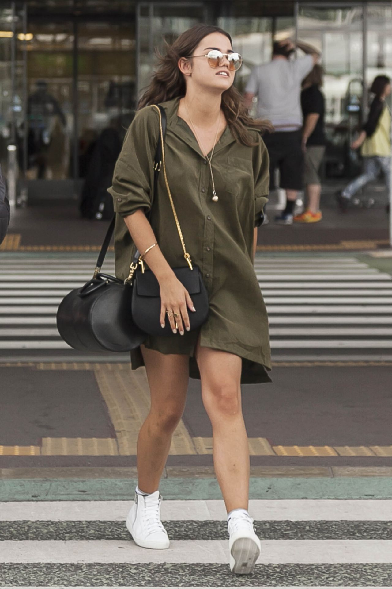 Maia Mitchell Airport Style Narita International Airport