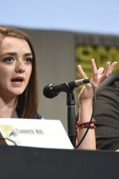 Maisie Williams – Game of Thrones Panel – 2015 Comic Con in San Diego