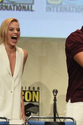 Margot Robbie at Comic-Con in San Diego, July 2015