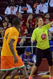 Maria Menounos - Celebrity Basketball Game at the Special Olympics World Games in Los Angeles