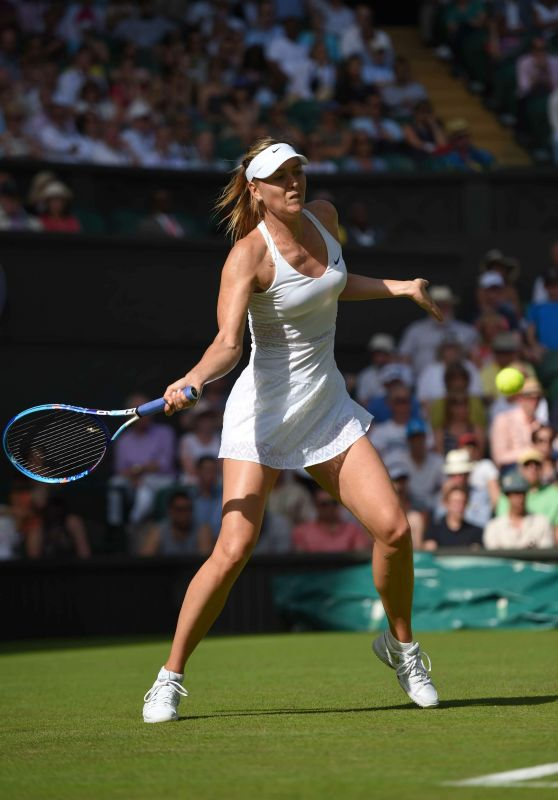 Maria Sharapova – Wimbledon Tournament 2015 – First Round