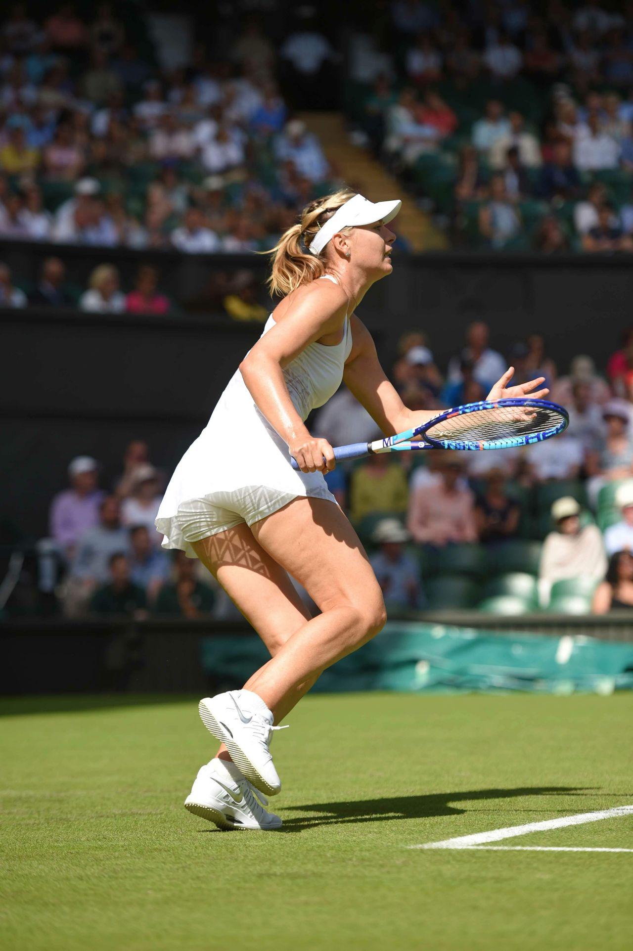 Maria Sharapova - Wimbledon Tennis Championships 2014