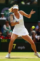 Maria Sharapova – Wimbledon Tournament 2015 – Quarter Final