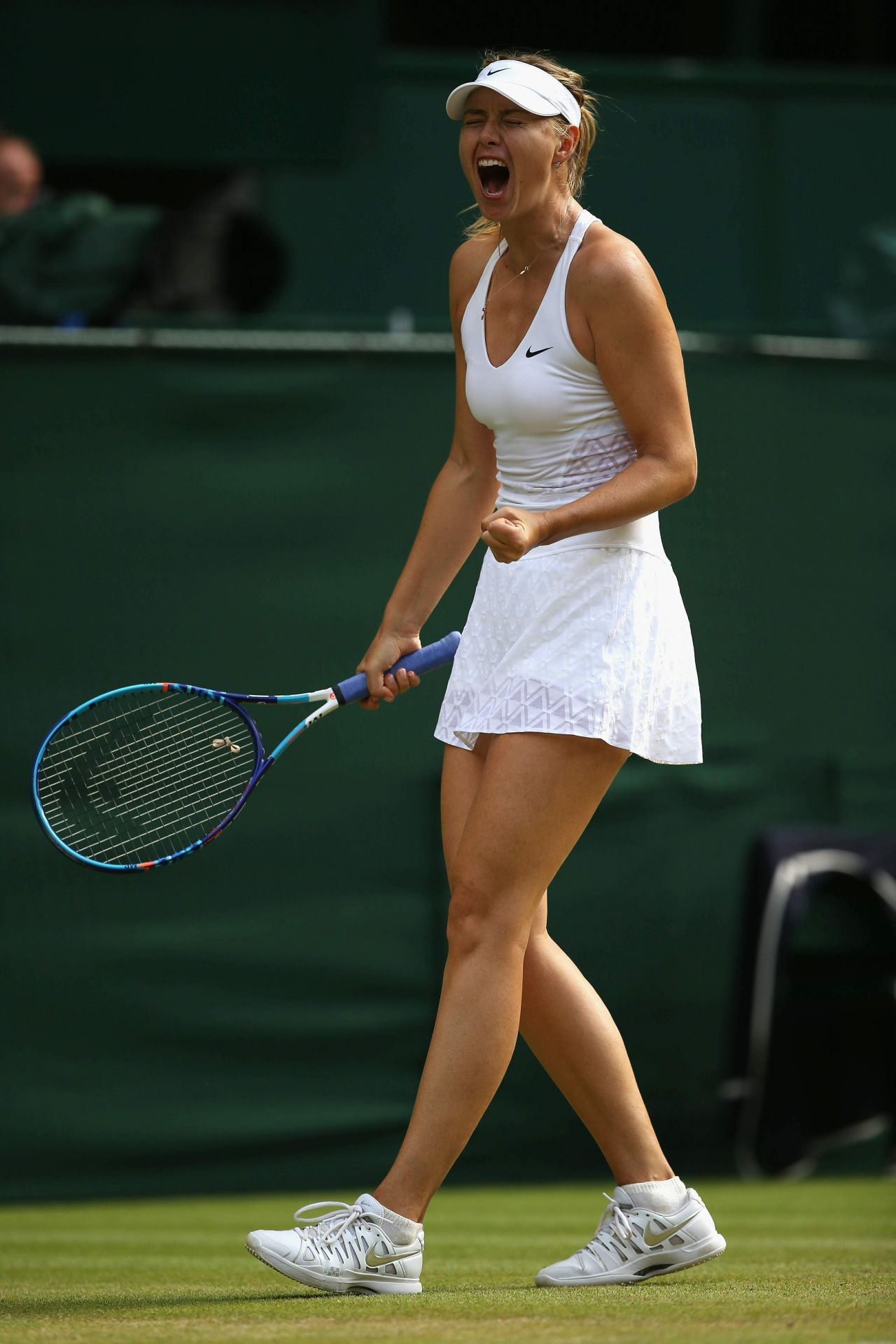 Maria Sharapova Wimbledon Tournament 2015 Quarter Final