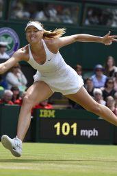 Maria Sharapova – Wimbledon Tournament 2015 – Quarter Final