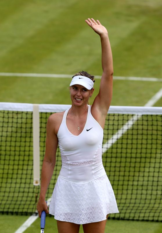 Maria Sharapova – Wimbledon Tournament 2015 – Second Round