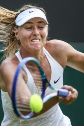 Maria Sharapova – Wimbledon Tournament 2015 – Second Round