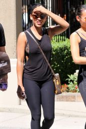 Meagan Good Street Style - Out in Vancouver, July 2015