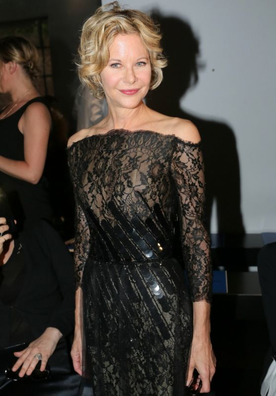 Meg Ryan - Georges Chakra Show at Paris Fashion Week, July 2015