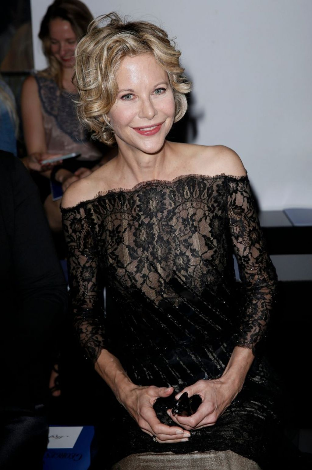 Meg Ryan Georges Chakra Show At Paris Fashion Week July