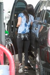 Megan Fox at a Gas Station in Beverly Hills, July 2015