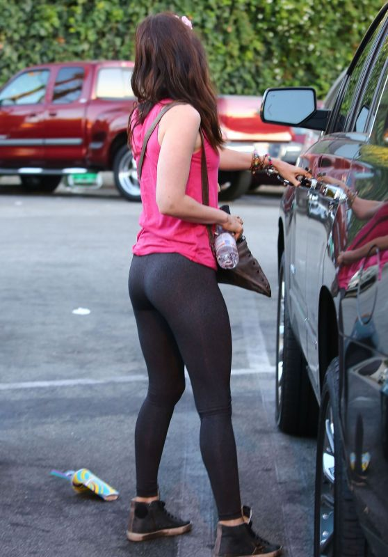 Megan Fox Booty in Tights - Out and about in Studio City, July 2015