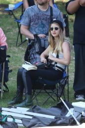 Melissa Benoist - Low Riders Set Photos, June 2015